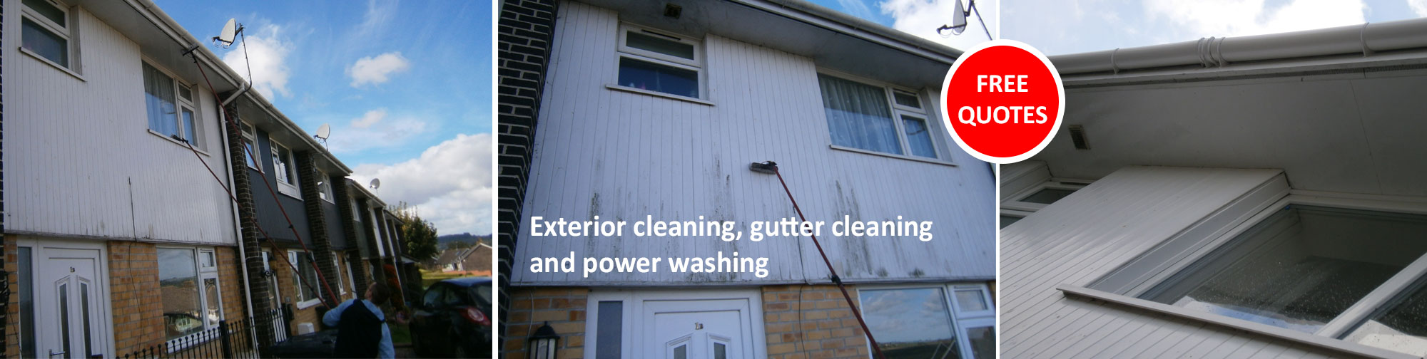 Gutter cleaning Axminster